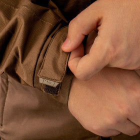 Regulagem de pulso com velcro