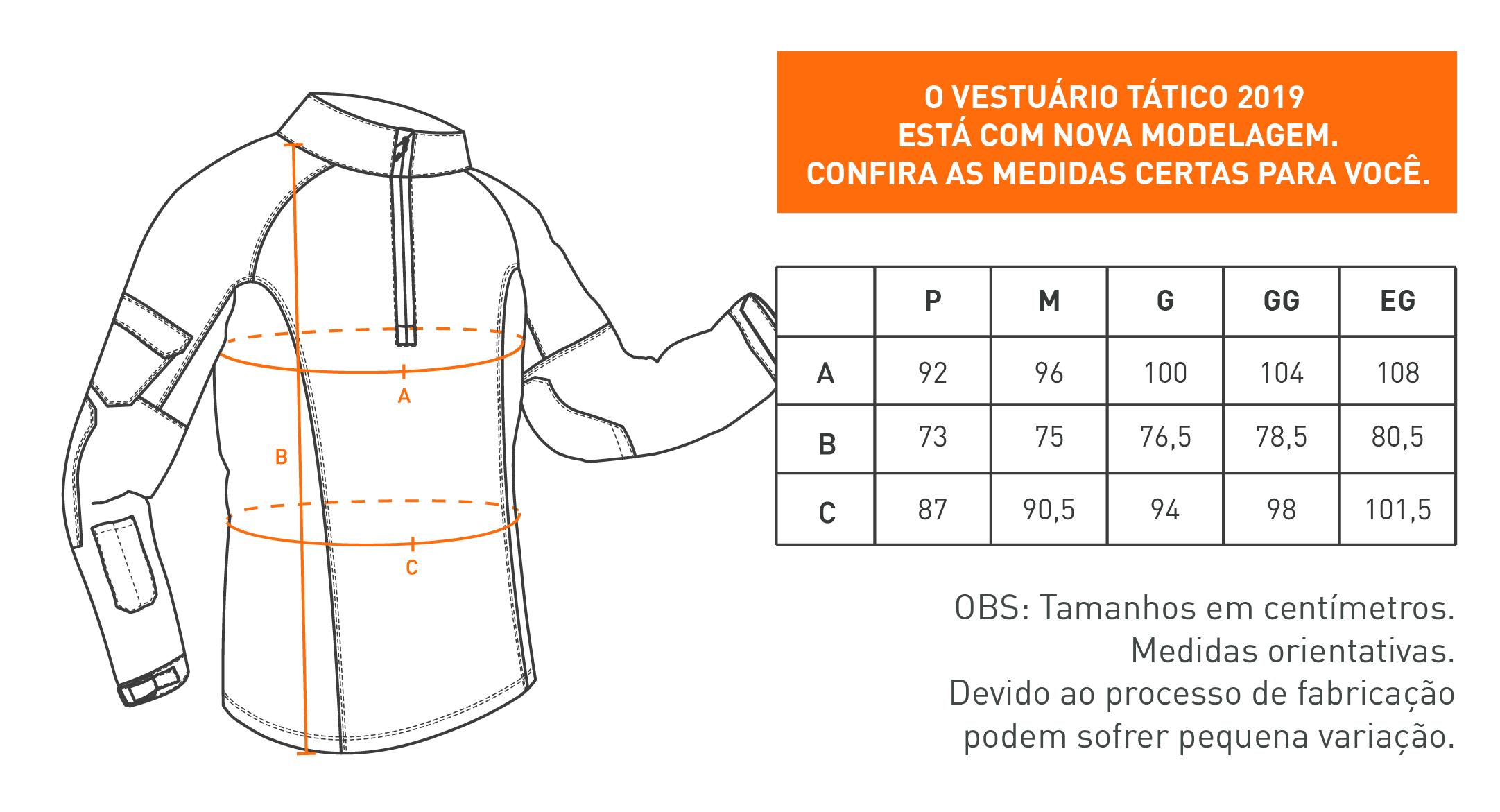 Camisa de Combate Operator - Preta