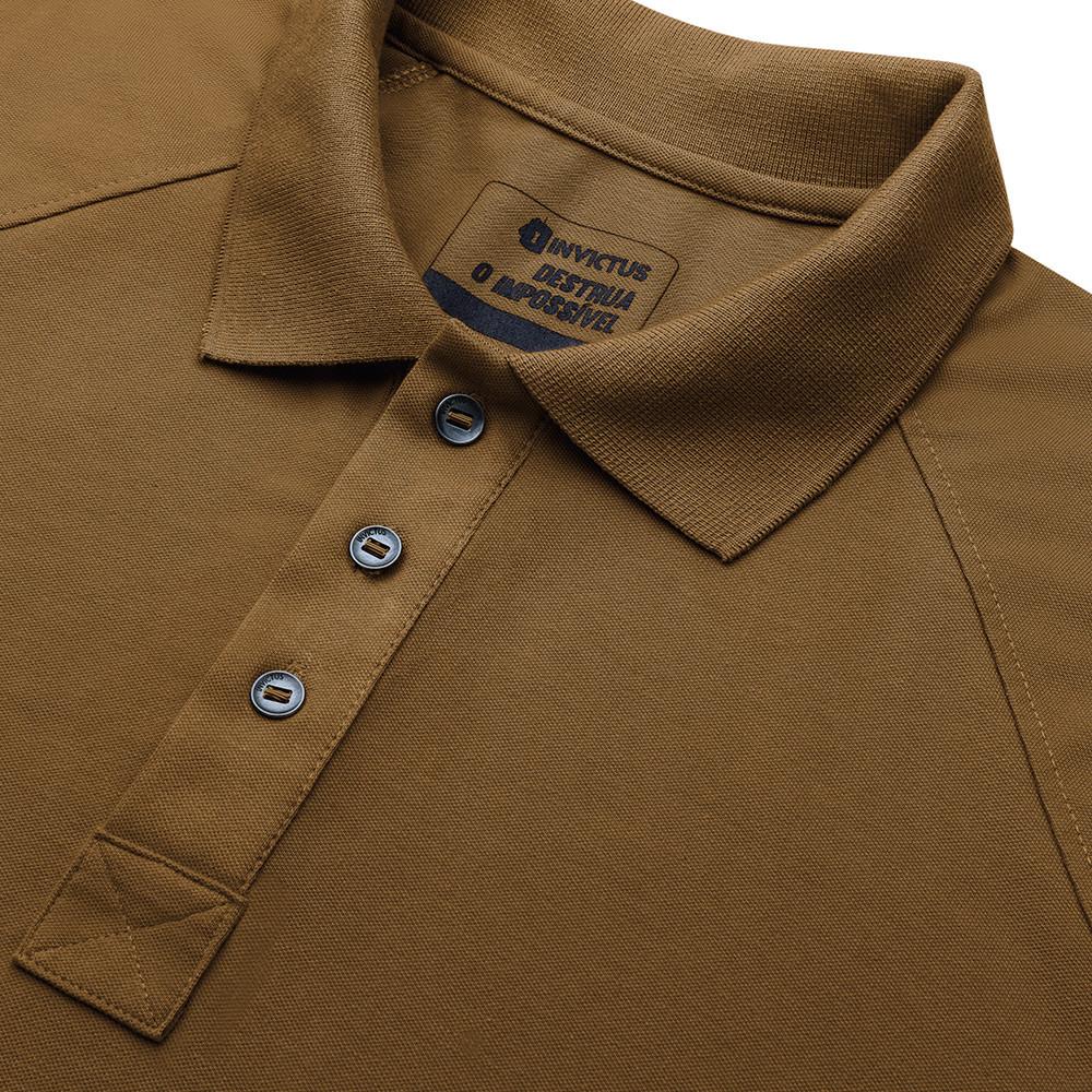 Camisa Polo Control - Marrom Apache