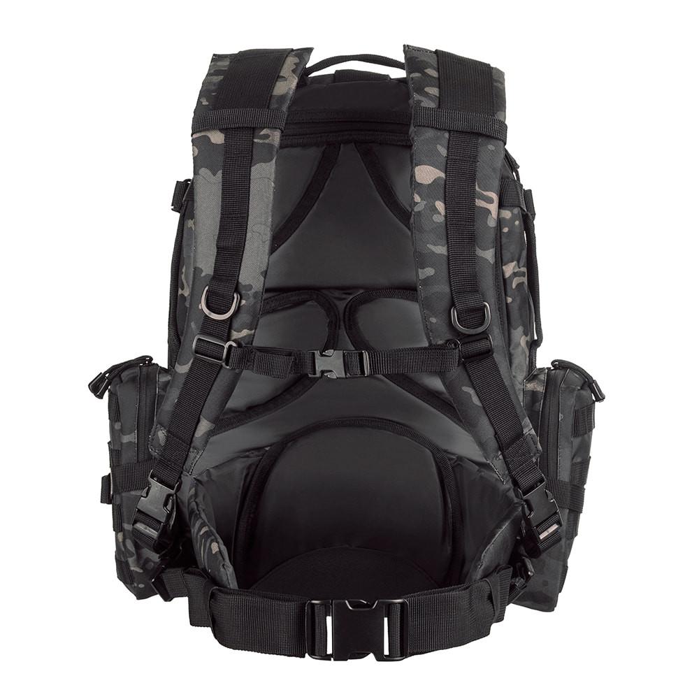 Mochila Defender - Camuflado Warskin Black
