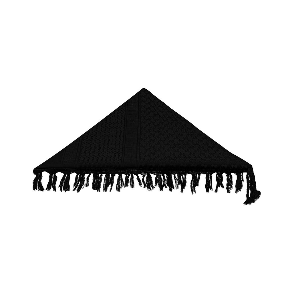 Shemagh Mirage Dune - All Black
