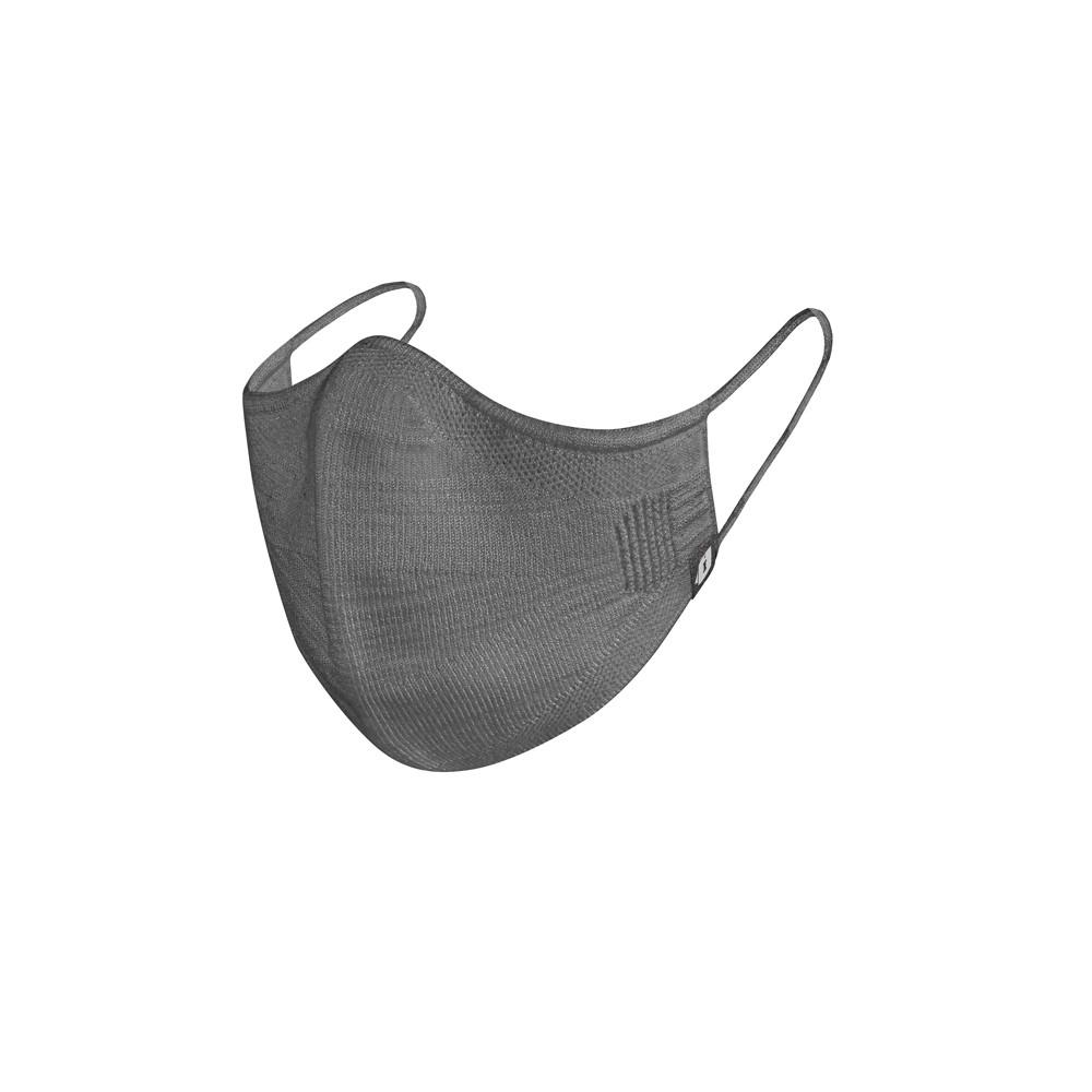 Máscara Reutilizável em KNIT Feminina - Cinza