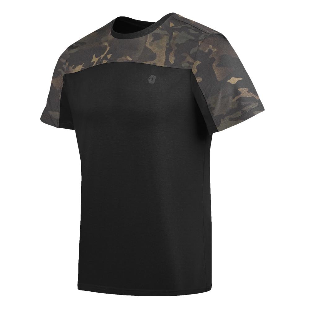 Camiseta Infantry 2.0 - Camuflado Warskin Black
