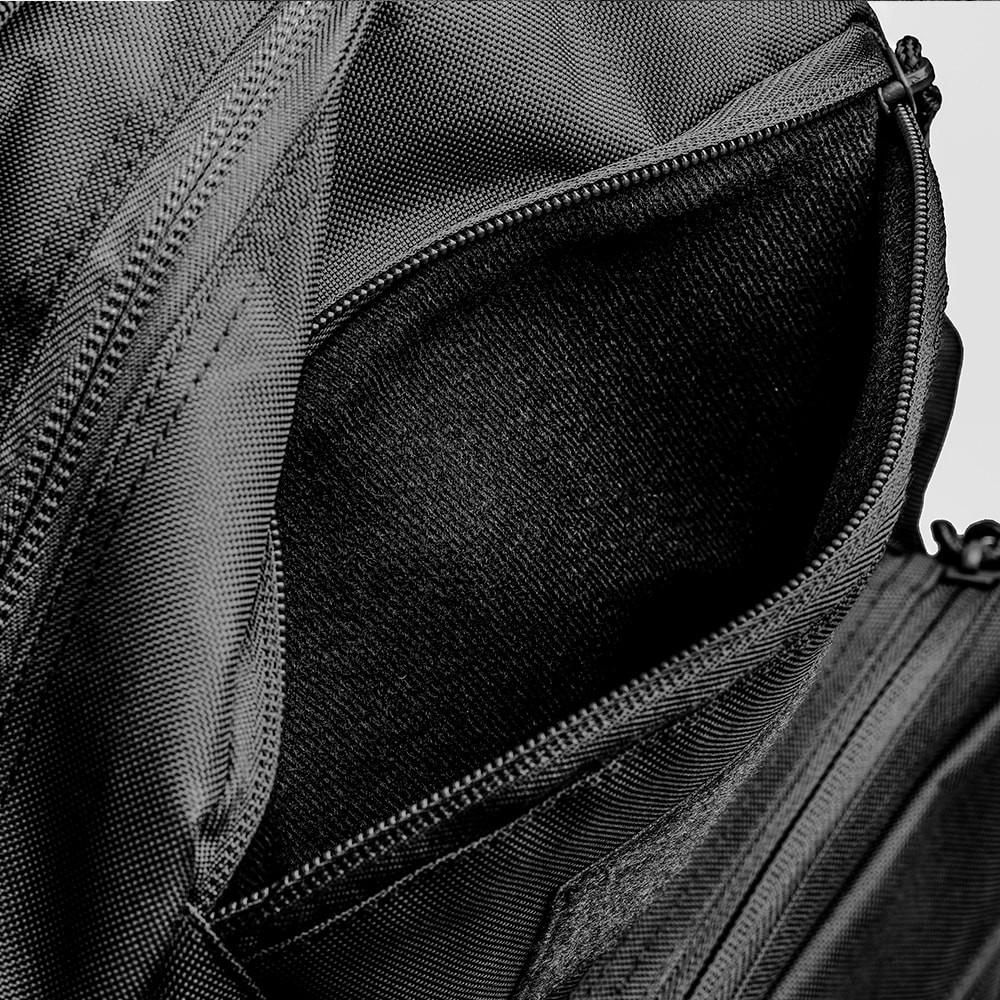 Mochila Mission - Camuflado Warskin Black