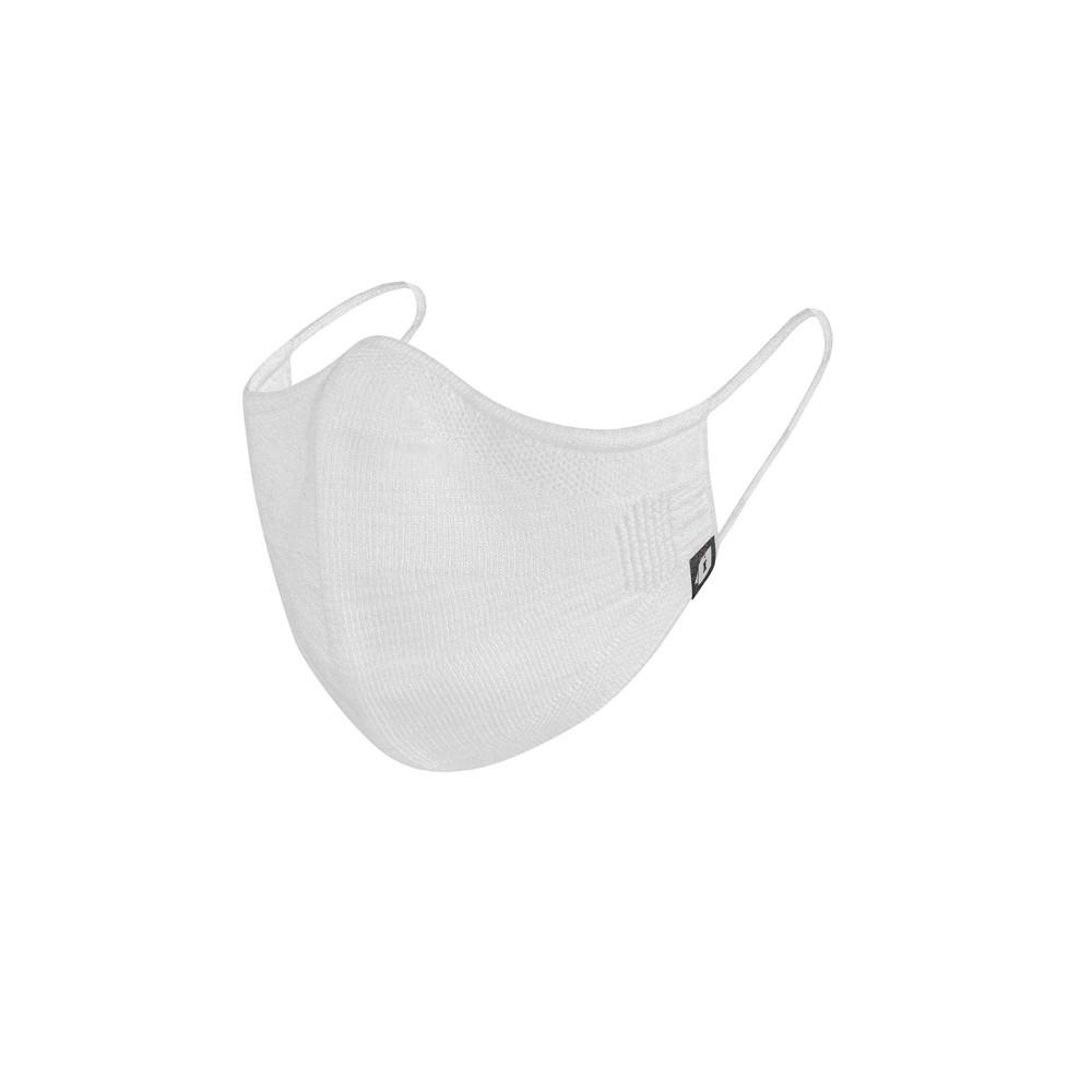 Máscara Reutilizável em KNIT Feminina - Branca