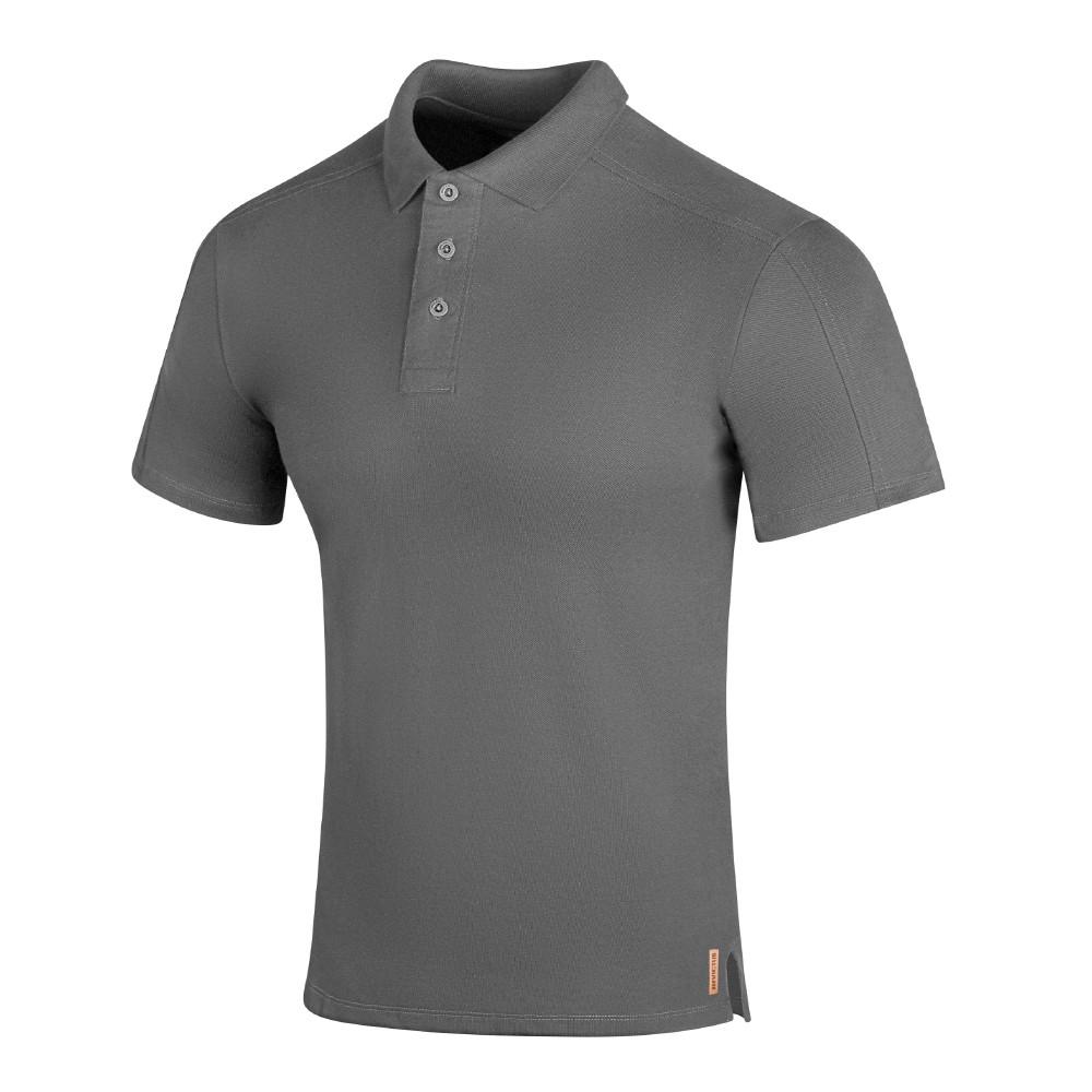 Camisa Polo Hero - Cinza Crômio
