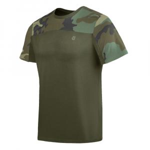 Camiseta Infantry 2.0 - Camuflado Woodland
