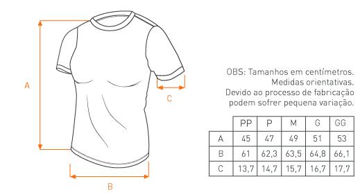 Camiseta Concept Feminina Zero Um