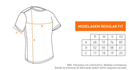 Camiseta Concept - Acombat Atire Com Força
