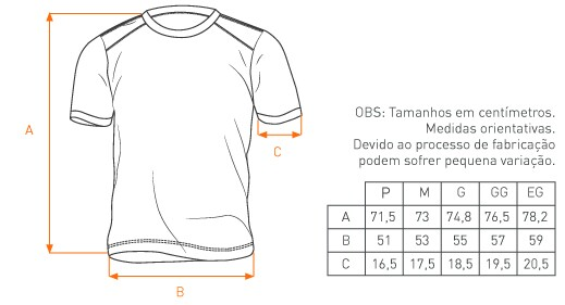 Camiseta Concept Patriota
