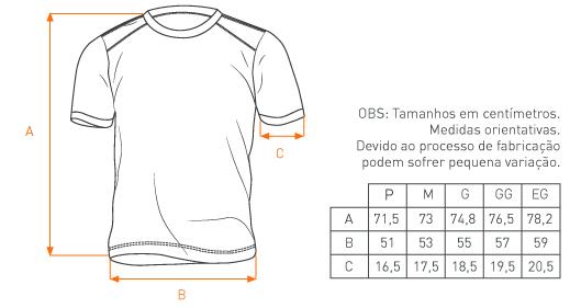 Camiseta Concept Pátria Amada